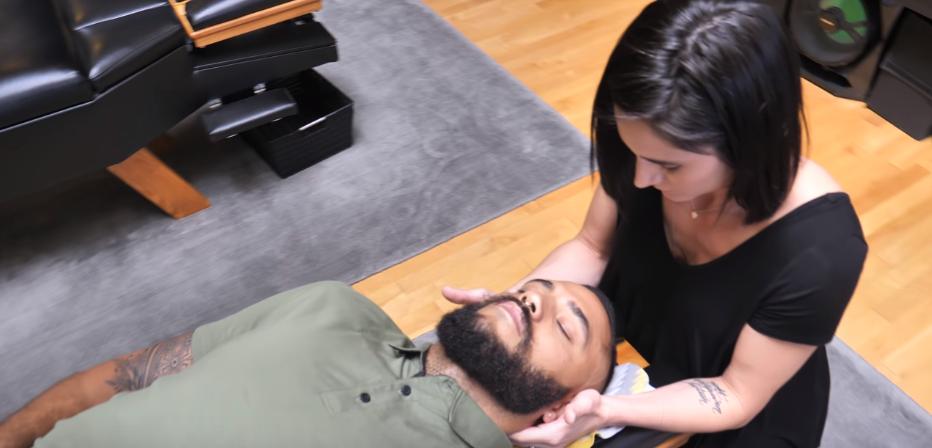 Хиропрактика массаж лица