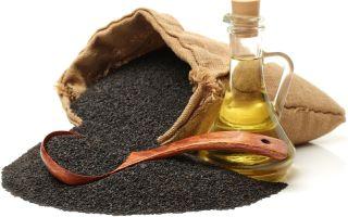 9 применений масла чёрного кунжута лечебной практике