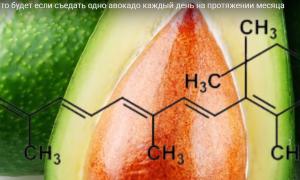 Каждый день по авокадо. Какие изменения в организме за 30 дней
