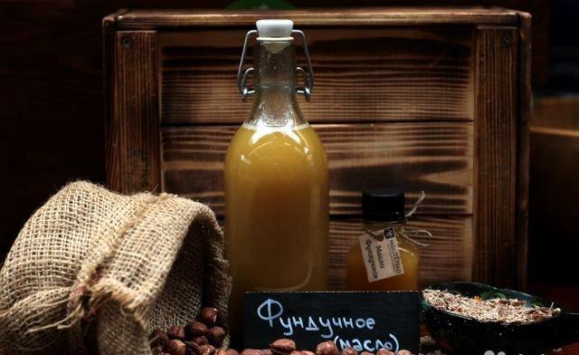 Фундукчное масло польза